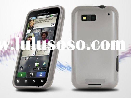Wholesale Silicone Mobile Phone Cases(Motorola Defy )
