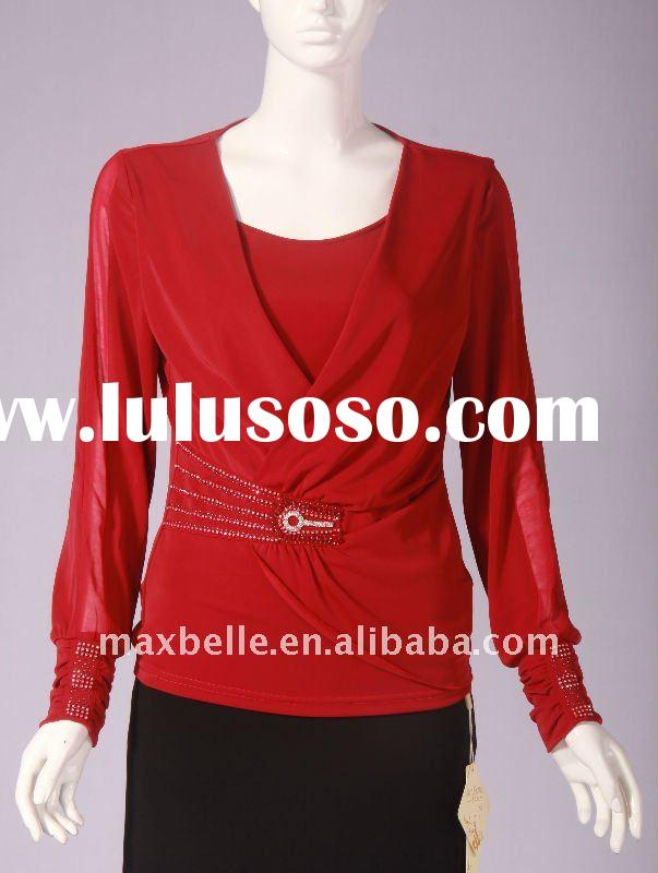 Women Fashion Clothing For 2012 Spring Latest Style Long Sleeve No.39961-28