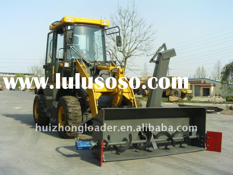 ZL15F small loader with snow blower