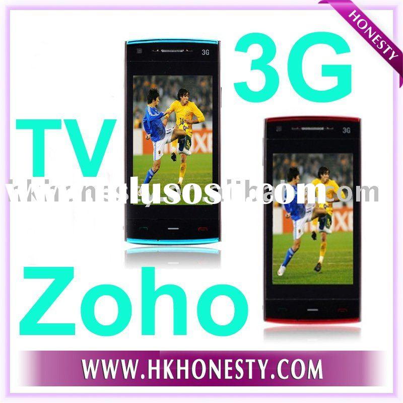 ZOHO 3G Cellphone GSM WCDMA Wifi Mobile Phone TV GPS Dual sim cards Bluetooth JAVA