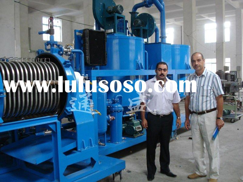 ZYD WASTE USED CAR MOTOR ENGINE OIL RECYCLING MACHINE