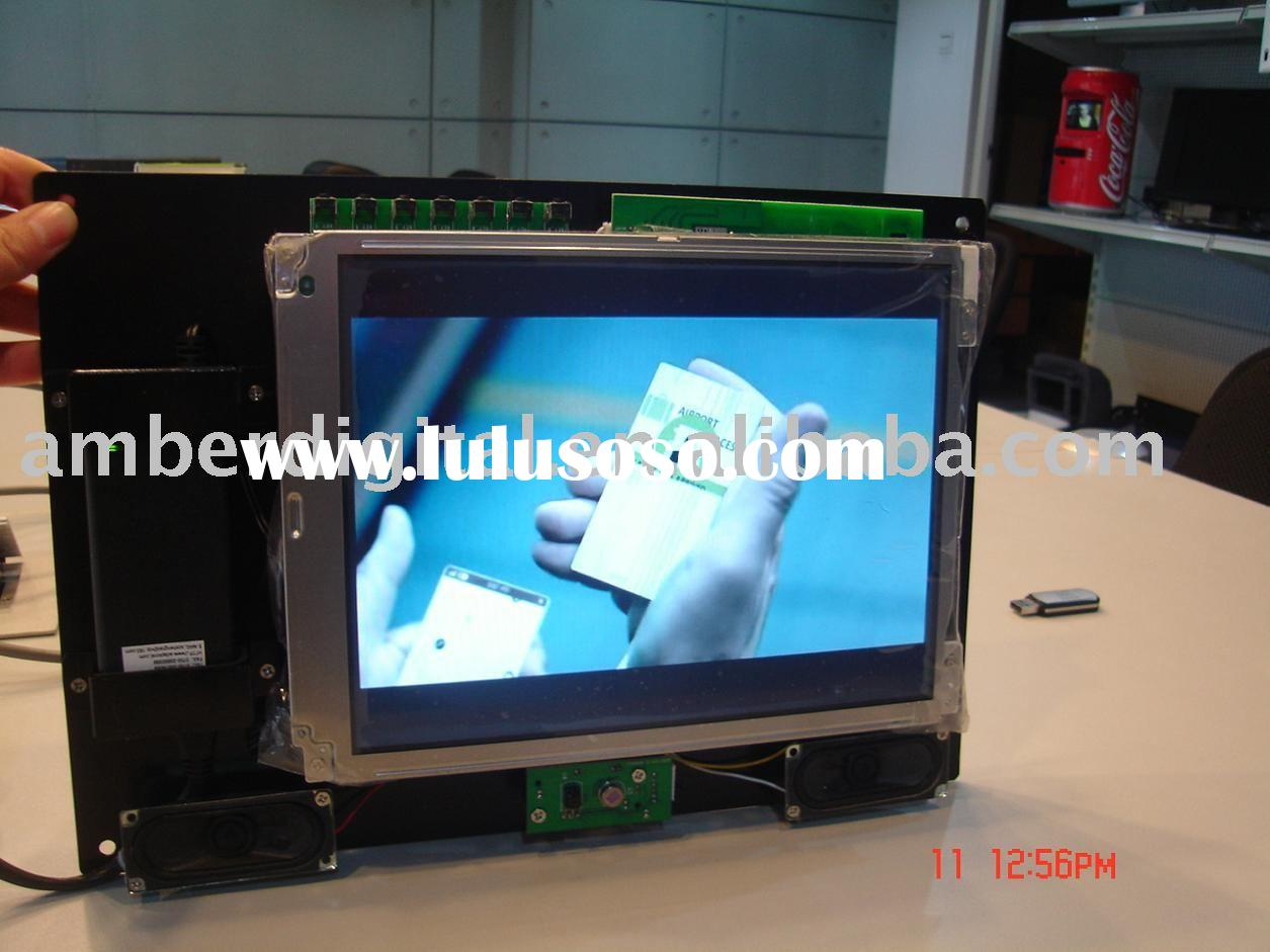 "(NEW)10"" OPEN FRAME LCD Screen for Advertising on Supermarket Shelves,point -of -sales display("