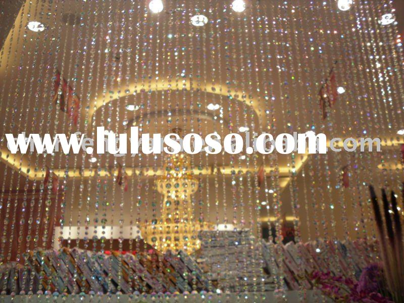 acrylic beads curtain(used decoreted)