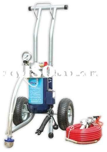 Dp6391 pneumatic airless paint sprayers with air for Air or airless paint sprayer
