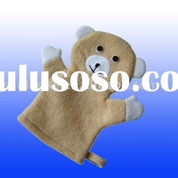 bear design bath glove