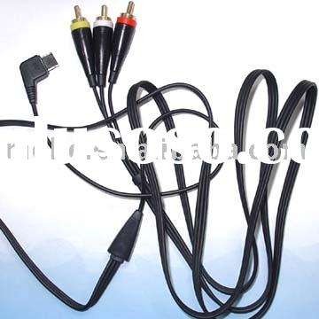 cell phone cable, mobile phone video, cellphone audio cables