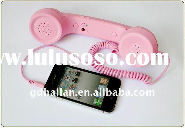 cellphone accessory/mobile phone accessories for Iphone &iPad Anti-radiation proof retro handset