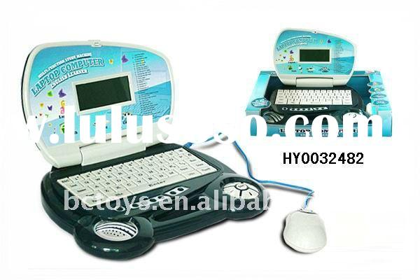 children laptop educational toy with computer mouse HY0032482