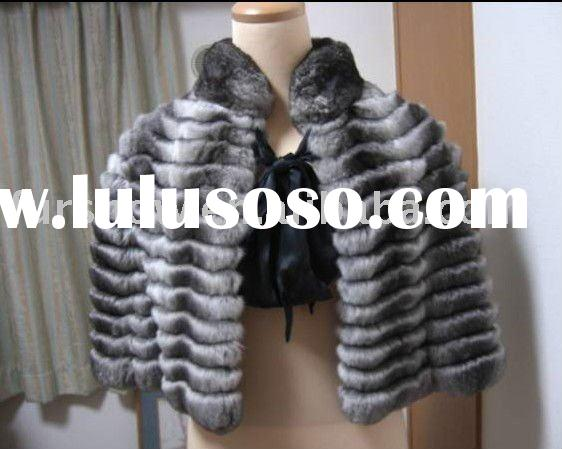 chinchilla fur CAPE