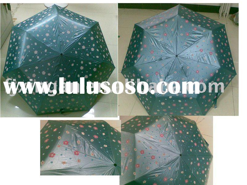 colour change umbrella ,magic printing umbrella