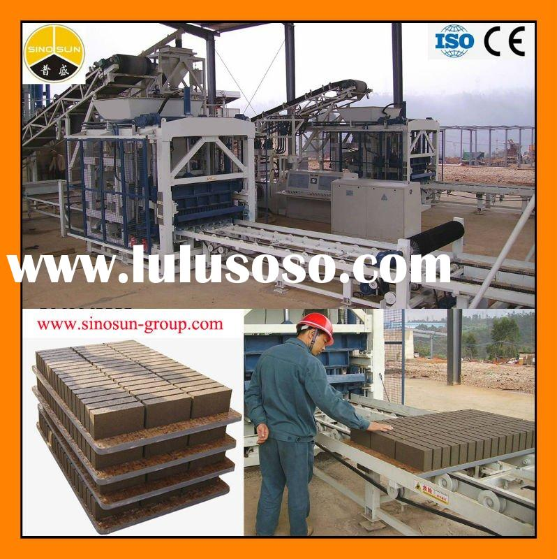 concrete block making machine price QFT9-18