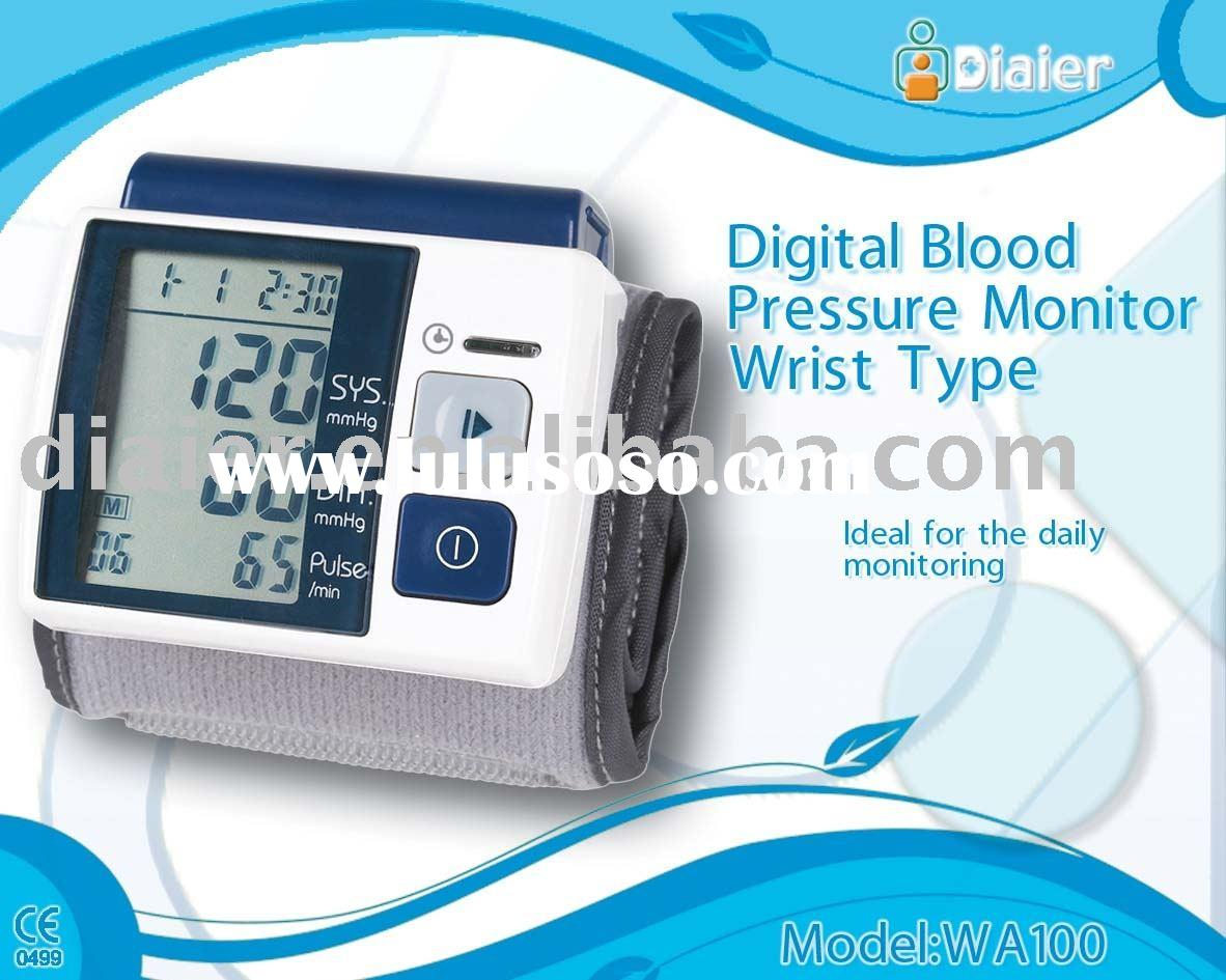 electronic Blood Pressure Monitor CE ROHS FDA quality