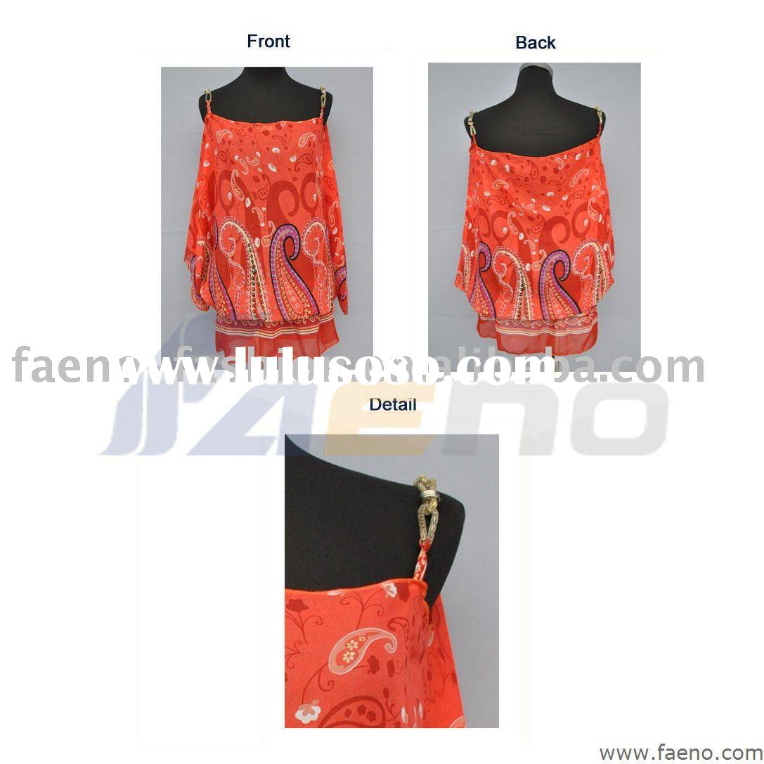 fancy tops for women/fashion blouses 2011