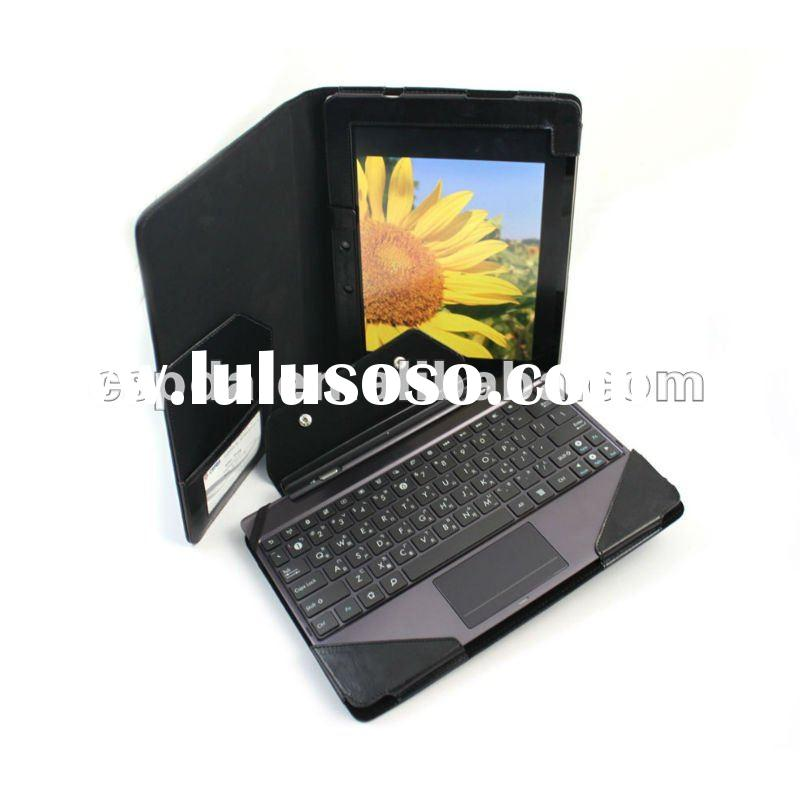 for ASUS Transformer Prime TF201 Leather Keyboard Portfolio Stand Case Cover Black