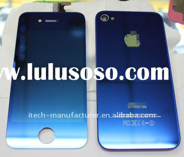 for apple iphone 4g Mirror color conversion kit--blue