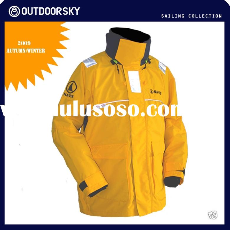 Marine clothing foul weather gear fishing jacket for Foul weather fishing gear