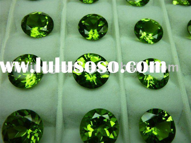 good quality natural peridot gemstone