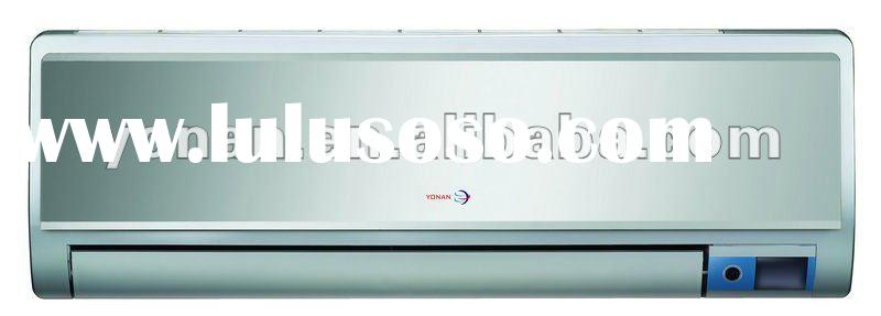 grey color panel DC inverter wall split type air conditioner