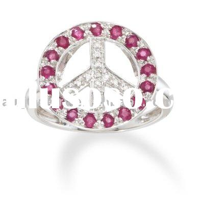 hot sale pink rhinestone jewelry