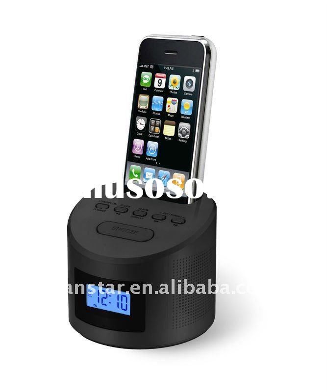iPod Docking Station with LCD Display Aux-in FM Radio Speakers MD619