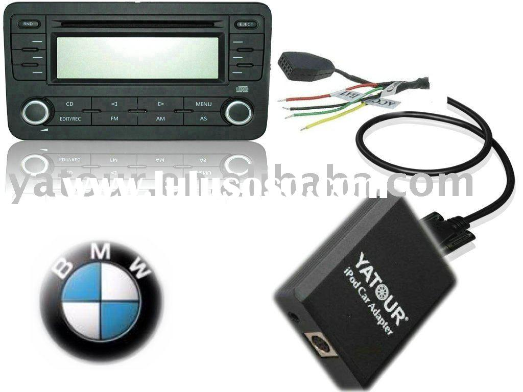 ipod/iphone car interface for BMW 17pin(CD changer adapter integration)