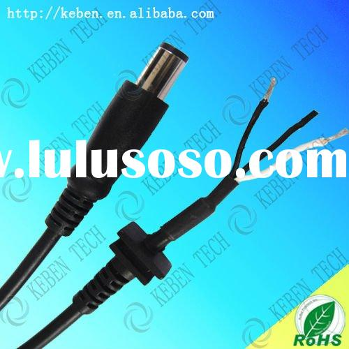 laptop power cord and dc plug