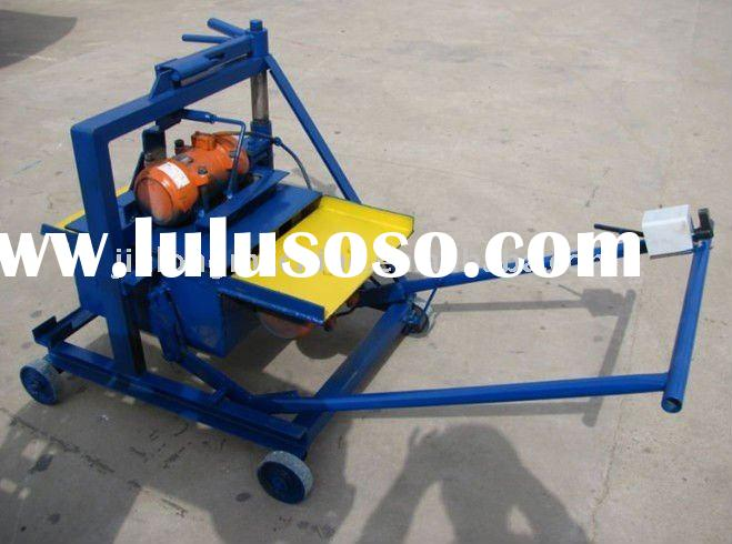 manual small concrete block machine LOW PRICE!!! Mobile concrete manual hollow block machine