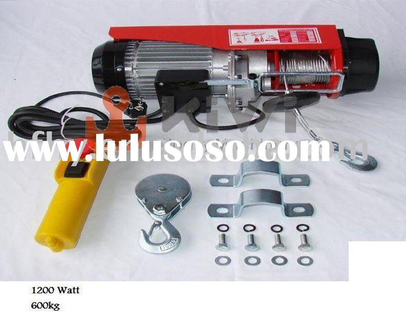 mini type electric wire rope hoist 600kg