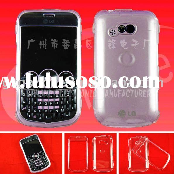mobile phone case:clear hard case/Crystal case for LG GW330