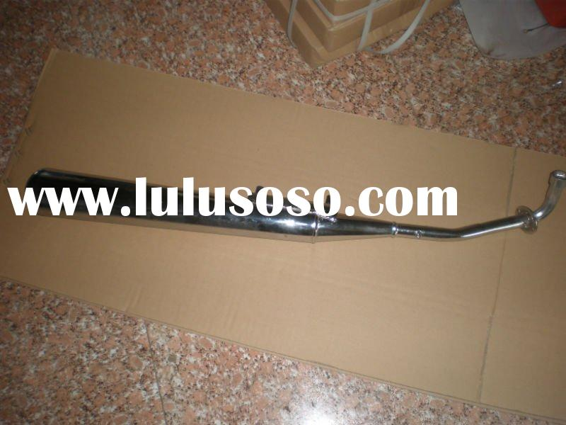 motorcycle rear exhaust pipe