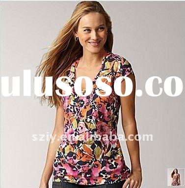 new designer summer women blouses and tops