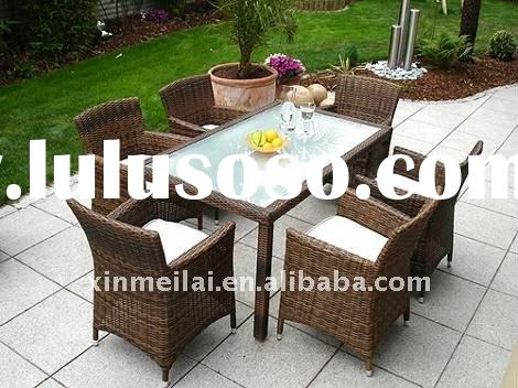 outdoor furniture / garden sets / garden dining table and chair /