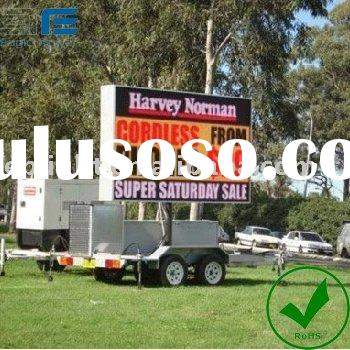 outdoor mobile stage truck LED display screen