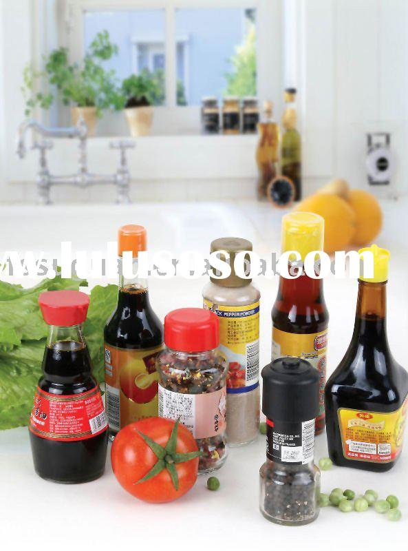 plastic bottle cap ,soy sauce glass bottle