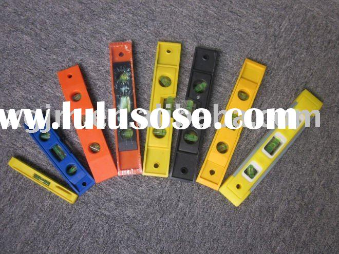 plastic mini spirit level scale ruler,Factory direct sales for promotional item
