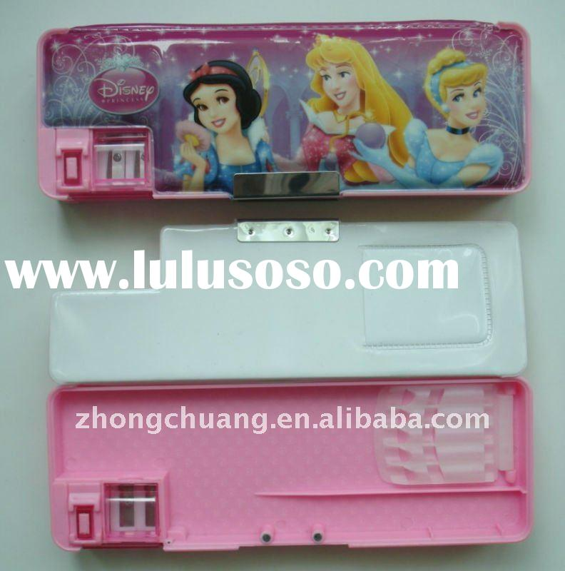 plastic school pencil box