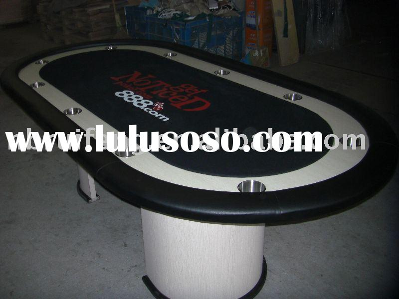 Poker Table With Led Light For Sale Price China