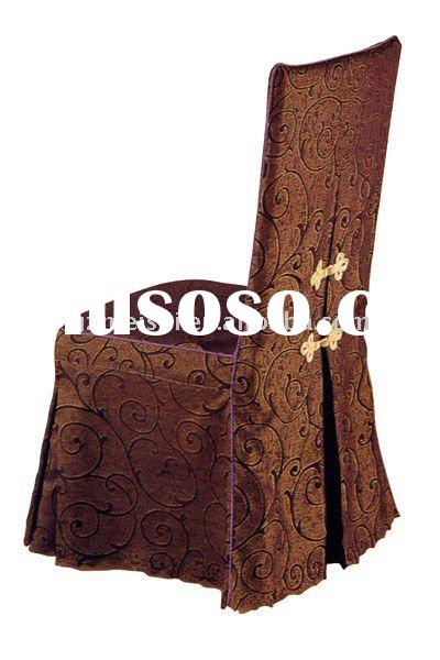 polyester Jacquard chair cover