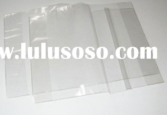 pvc book cover clear