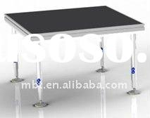 regular portable decent stage for trade show display equipment