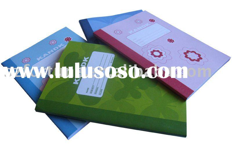 soft cover exercise book A5 size