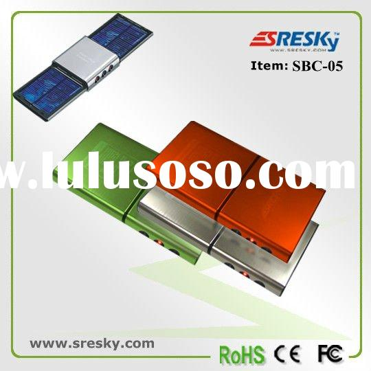 solar battery charger,Metal case