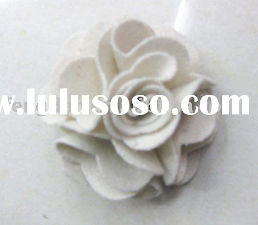unique nonwoven fabric flower accessories suitable to brooches,garments,bags and hair accessories