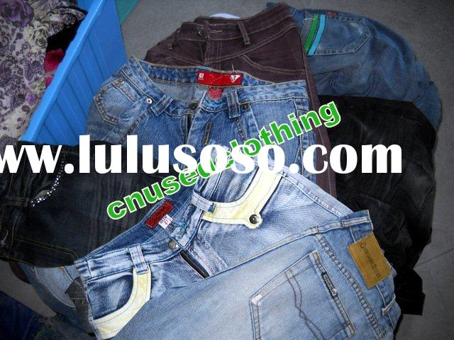 used jeans, used clothing, used clothes, used bags, secondhand clothing