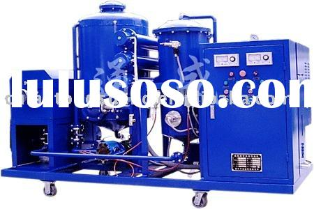 used oil purification plant machine vacuum oil purifier ZYB-50 Serials for hydraulic oil and lubrica