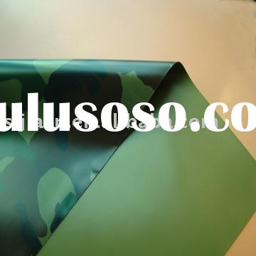 waterproof fabric/camouflage fabric/nylon coated with PVC fabric