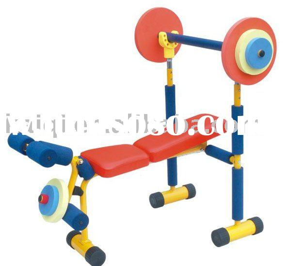 weight lifting bed kids outdoor fitness equipment