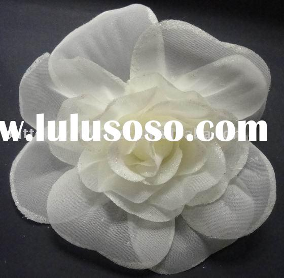 white silk flower,wedding flower,artificial flowers