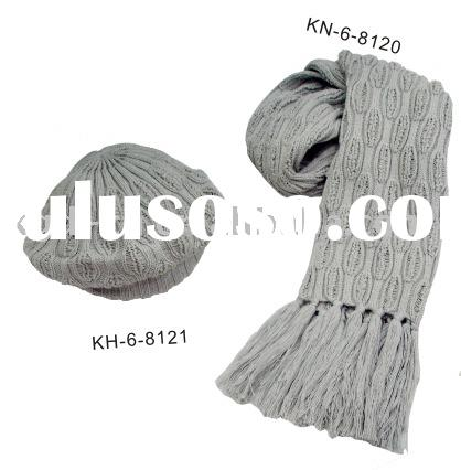 winter sets scarf and hat
