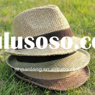 womens summer hats&Top Selling Summer Natural Straw Hat&ladies summer jazz hats